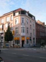 Baudelostraat 35. Foto: Dirk Boncquet, juni 2003.