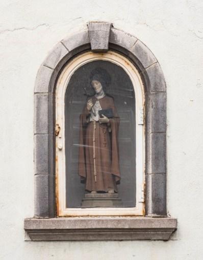 Beeldje Sint-Coleta. Foto Michel Vuijlsteke, juli 2016