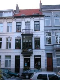 Baudelostraat 75. Foto: Dirk Boncquet, juni 2003.