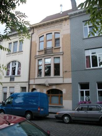 Baudelostraat 91. Foto: Dirk Boncquet, juni 2003.