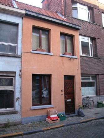 Gelukstraat 40. Foto: Dirk Boncquet, juni 2003.