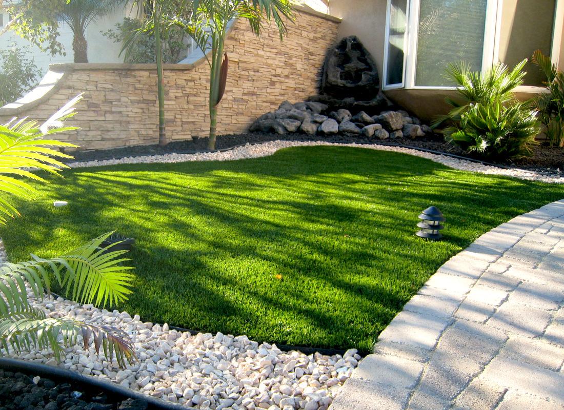 Landscape Turf  Artificial Lawn San Diego Contractor