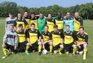 The cup final squad pre kick-off