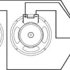 8 Ohm Wiring Diagram Taotao 50 Celestion Bl12 200x Ferrite 2 X 16 Speaker Load