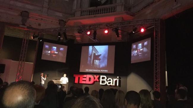 Matthew Watkins at TEDx Bari - We have magical powers