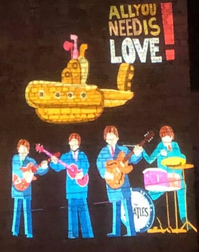 The Beatles, tagtool animation
