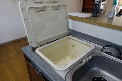 トップオープン食器洗い機