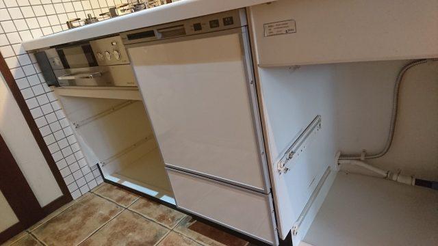 フロントオープンリンナイ食器洗い機