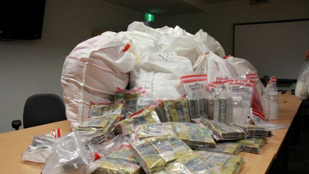 Police claims the methamphetamine haul has a street value of $320 million.