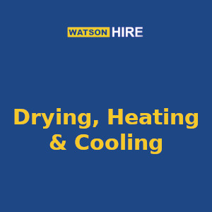 Drying, Heating & Cooling