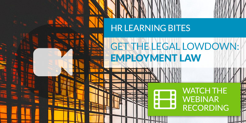Get the Legal Lowdown: Employment Law