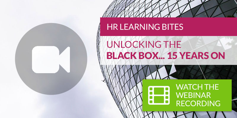 Unlock the Black Box... 15 Years On