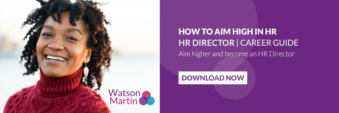 How to Aim Higher in HR-HR Director