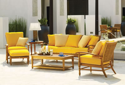 Summer Classics Yacht Collection Teak Patio Furniture