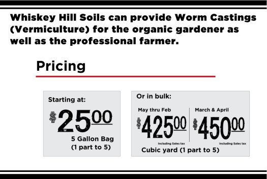 worm castings in watsonville santa cruz salinas gilroy best pricing