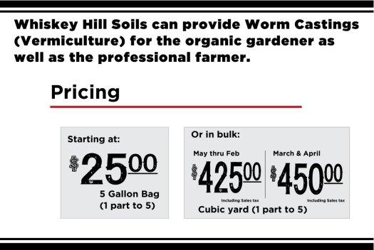 worm castings in watsonville santa cruz salinas gilroy best pricing