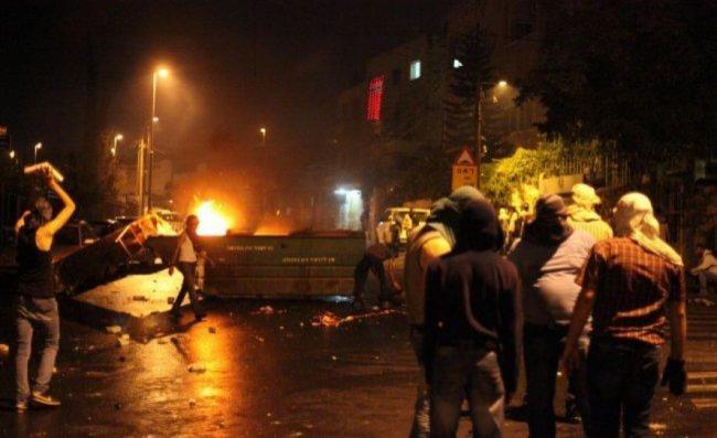 اصابات بالاختناق في مواجهات مع الاحتلال شمال الخليل 1