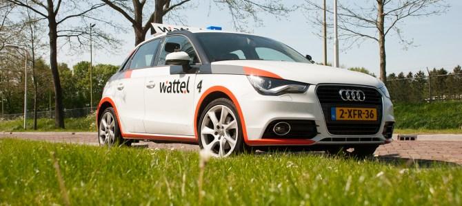 Wattel gaat Audi A1 rijden!