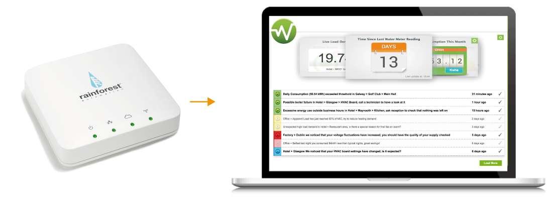 Rainforest Eagle Energy Monitor Gateway via HTTPS