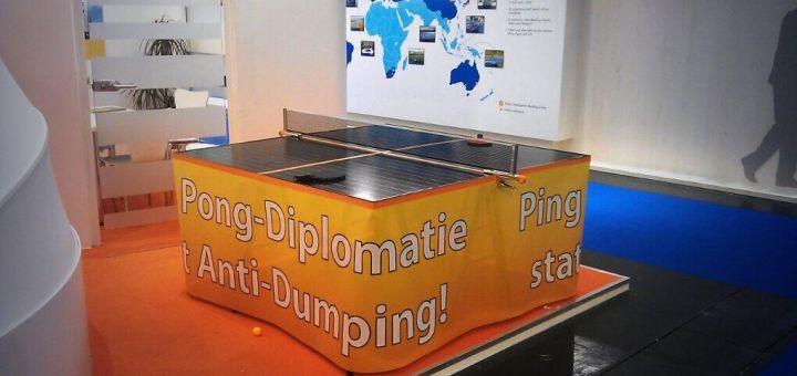 Eu Importheffing Chinese Zonnepanelen Zeurt Maar Door Duurzaam