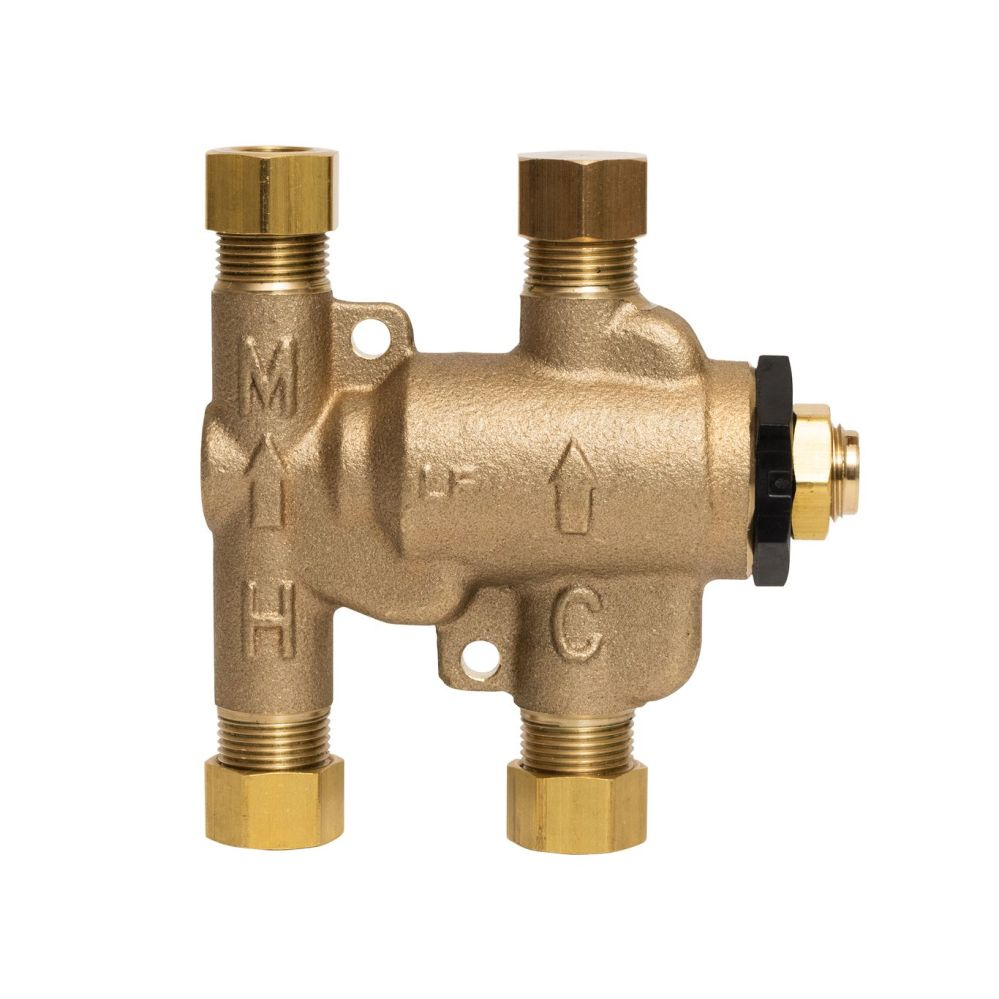 medium resolution of size 3 8 10mm lead free under sink guardian thermostatic mixing valves