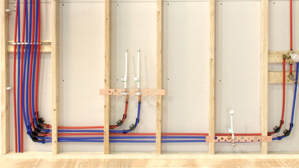 medium resolution of we offer complete pex systems for both potable plumbing and radiant heating including tubing manifolds fittings and other accessories