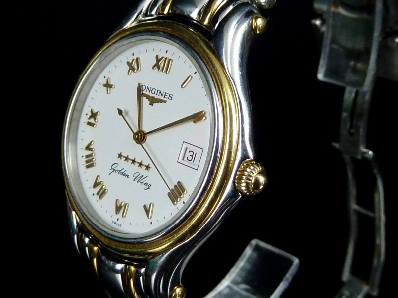 Watts Antiques LONGINES GOLDEN WING 5 STAR