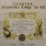 Waukesha Elks Lodge #400 Charter