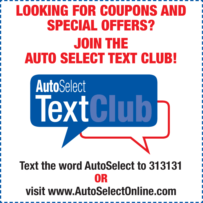 Don't miss out! Car Repair Text Message Specials in Stevens Point, WI