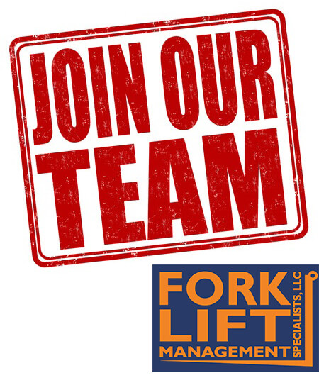 Hiring Now! professional Applicant At Forklift Management Specialists, LLC