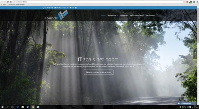 Website FoundIT