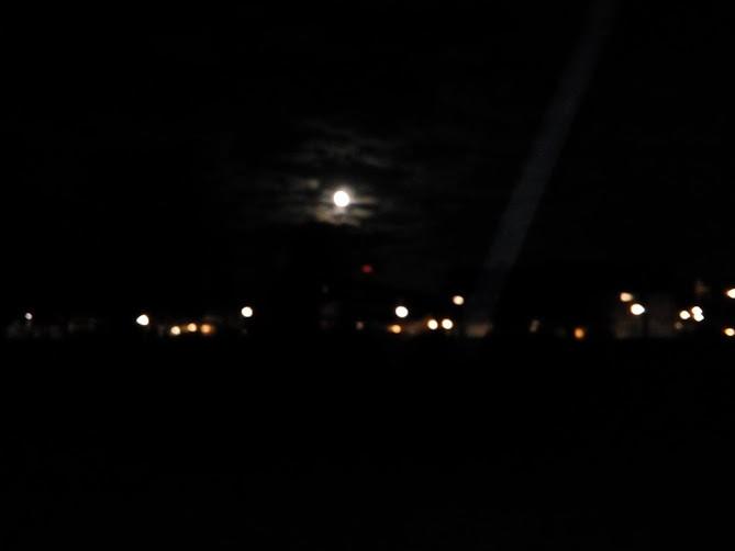 Scheldeplein in het donker