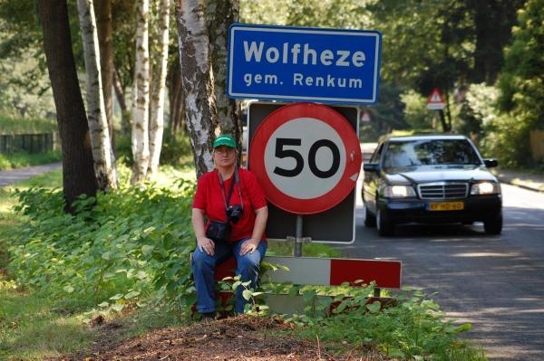 Jij tijdens een boswandeling in Wolfheze