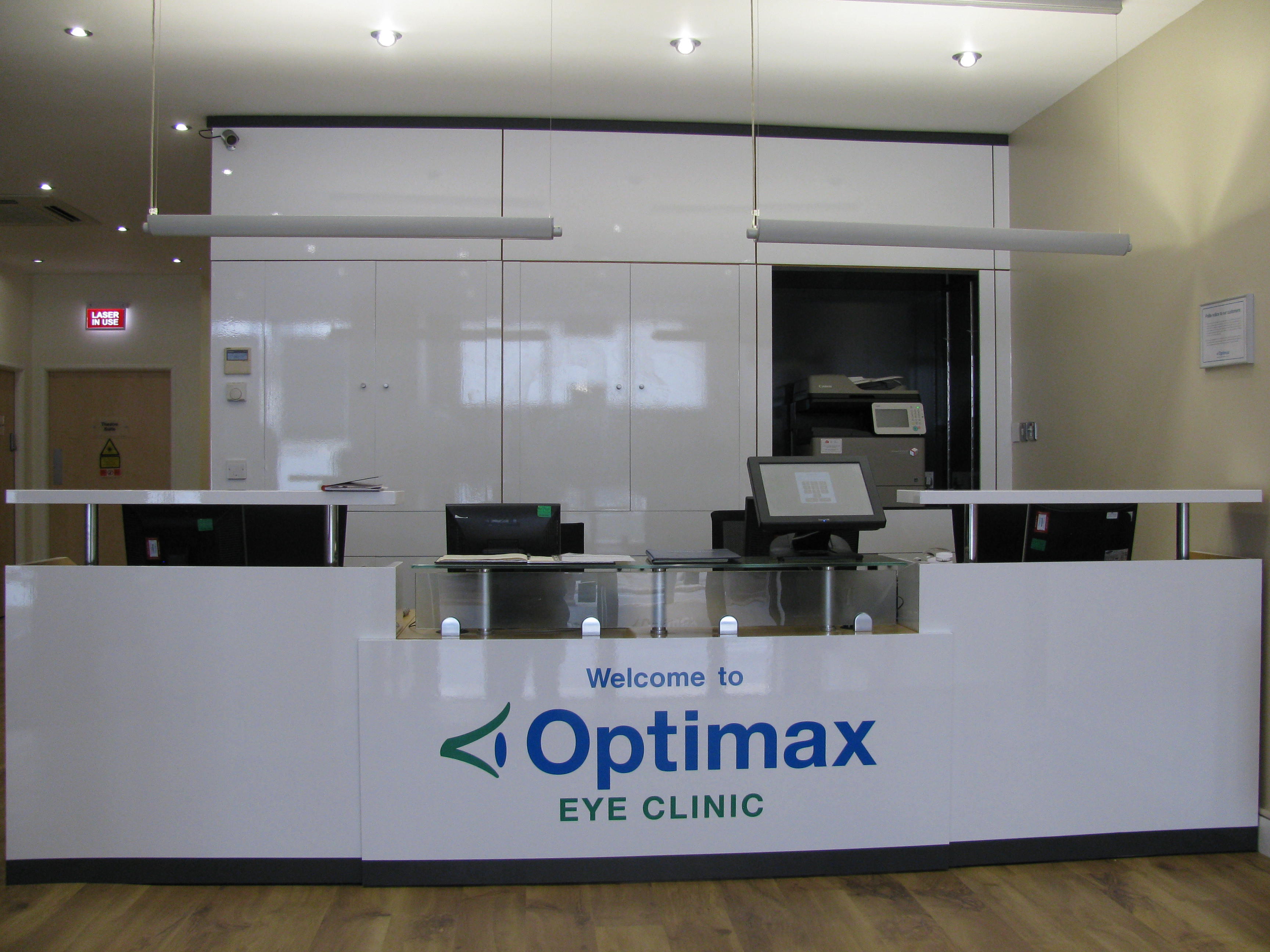 BESPOKE RECEPTION COUNTERS  WAVE OFFICE