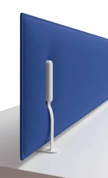 Mitesco Worktop Acoustic Desk Dividers Wave Office