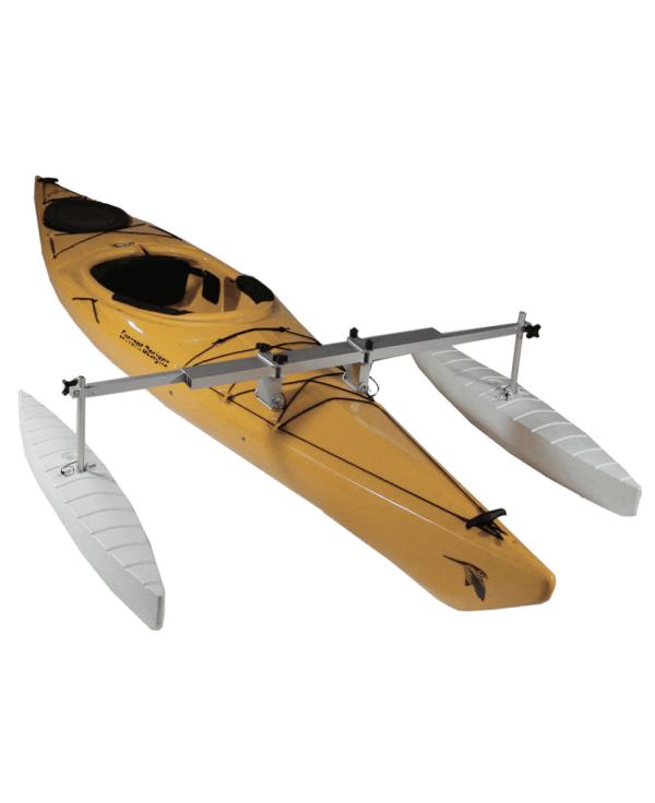 Kayak Canoe Stabilizer Kit - Wave Armor Floating