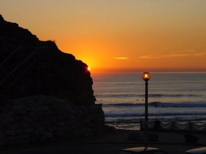 Abendstimmung in Ribeira d'Ilhas.