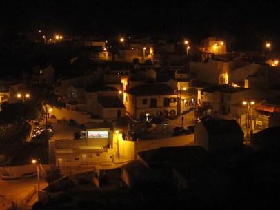 Burgau bei Nacht