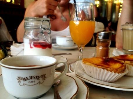Das Majestic in Porto ist das bekannteste Kaffeehaus des Landes.