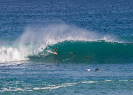 Padang Padang surf