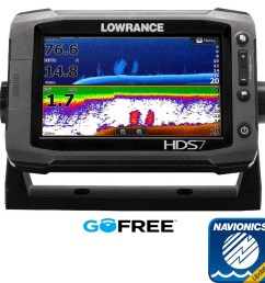 lowrance hds 7 gen2 touch row with charts [ 1000 x 1000 Pixel ]