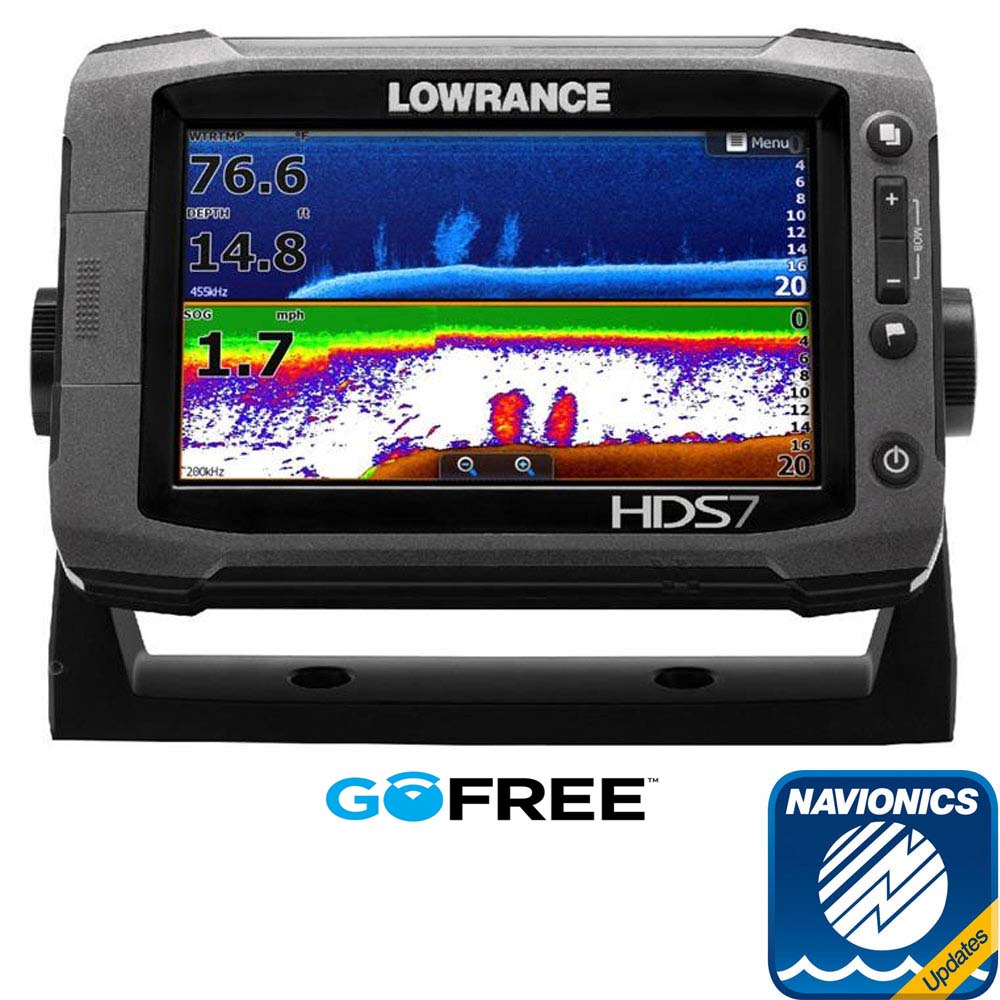 medium resolution of lowrance hds 7 gen2 touch row with charts