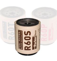 parker racor replacement filter elemment spin on 260rc 460r 660r waveinn [ 1000 x 1000 Pixel ]