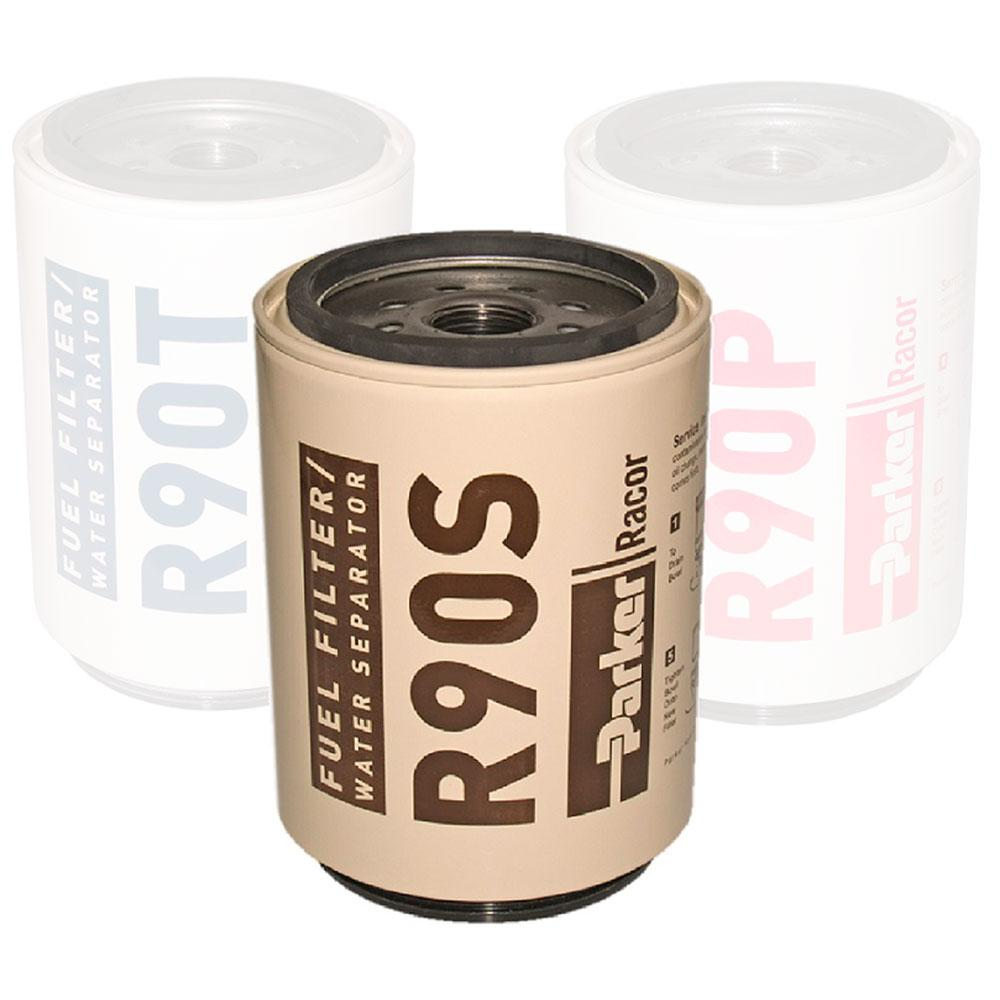 hight resolution of parker racor replacement filter elemment spin on 390rc 490r 690r