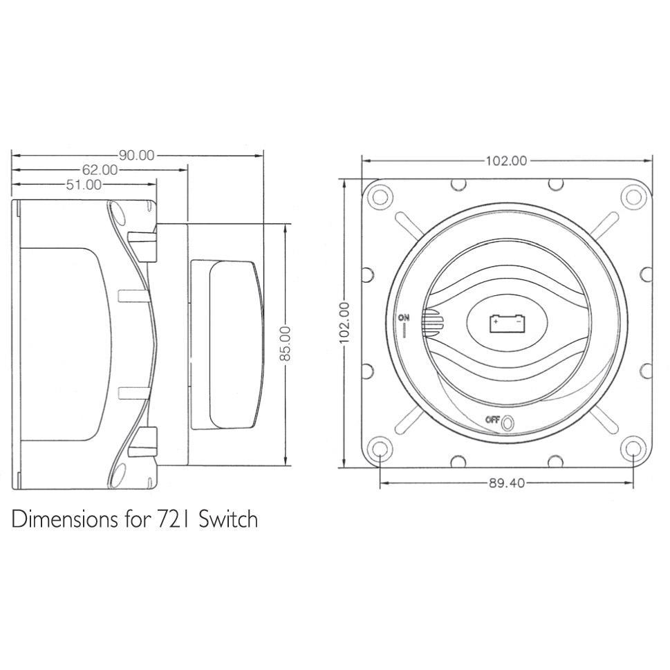 medium resolution of  bep marine heavy duty battery switch