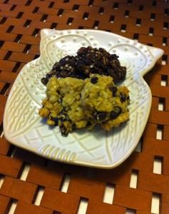 Quinoa-oatmeal cookies