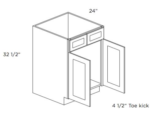 cubitac dover shale sink base cabinet 30w x 34 1 2h x 24d