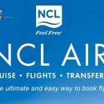 NCL lanza una plataforma de reservas de vuelo pata sus cruceros
