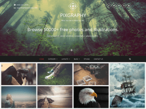 pixgraphy-free-wordpress-theme