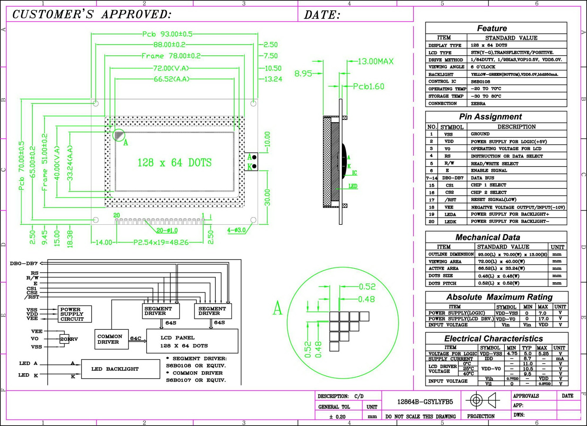 hight resolution of datasheet download